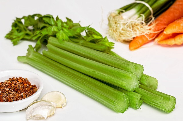 rebarbora se zeleninou