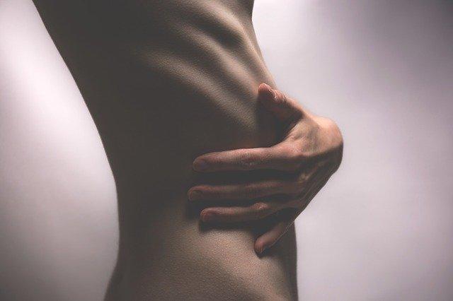 vyhublé tělo