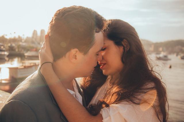 vášeň mezi mužem a ženou