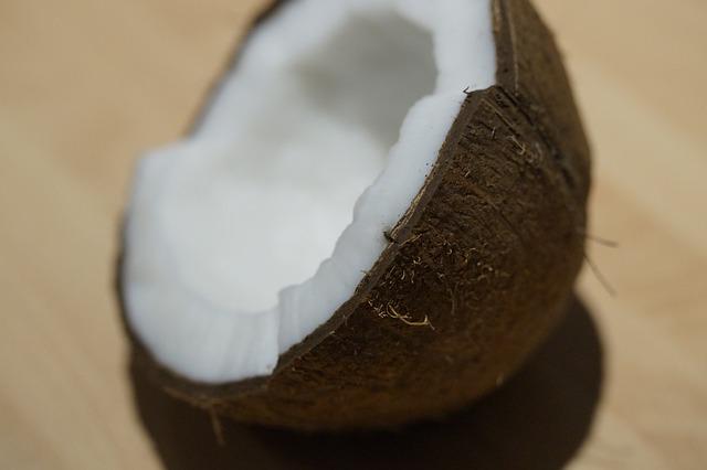 půlka kokosu