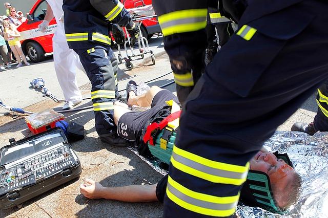 hasiči u autonehody