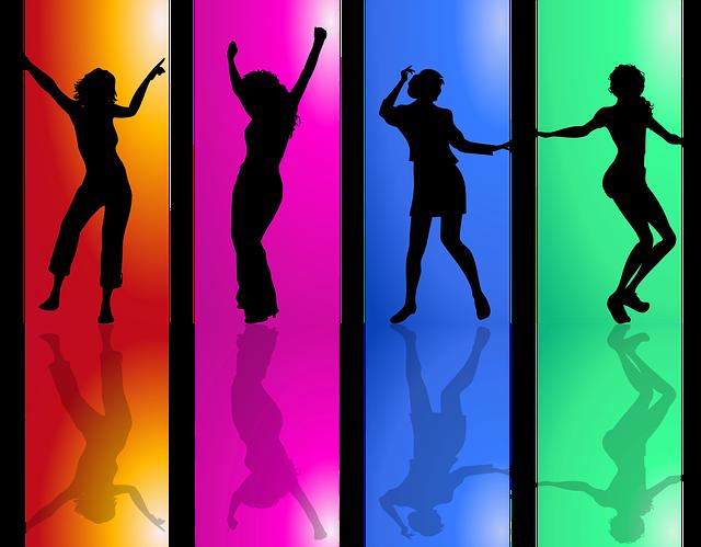 taneční pózy