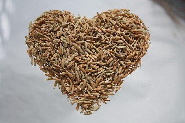 rýže srdce