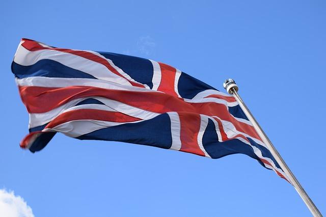 vlajka ve větru