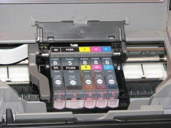 náplně do tiskárny