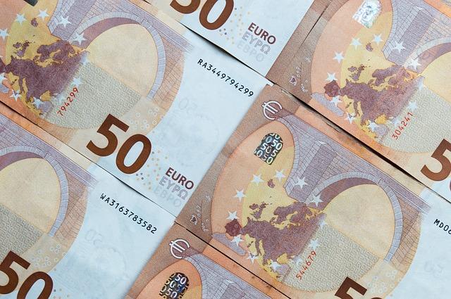 eurobankovky – padesátky