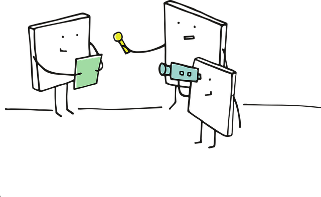 kresleně znázorněná reportáž z místa činu